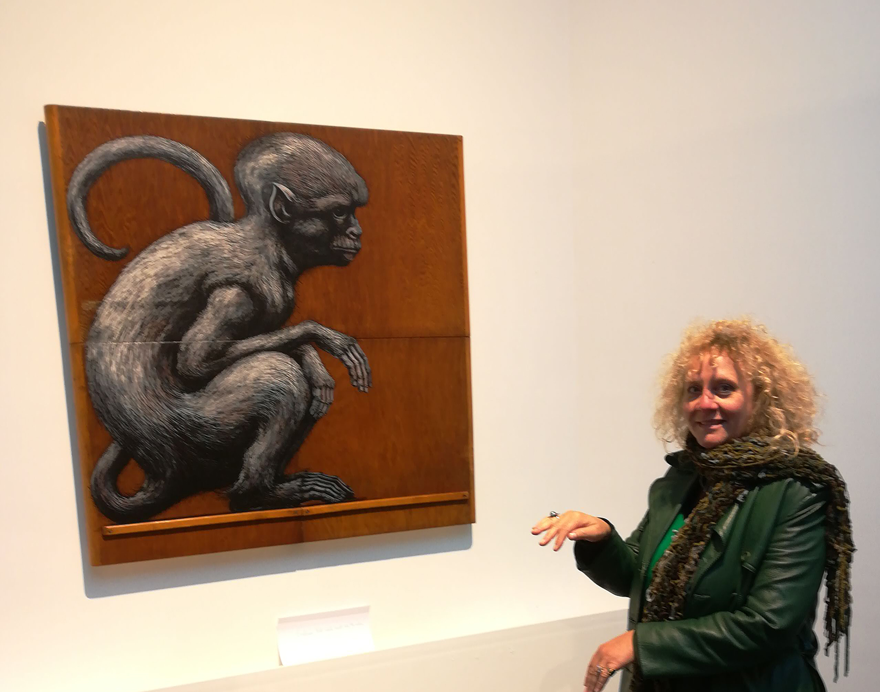ROA's monkey and me