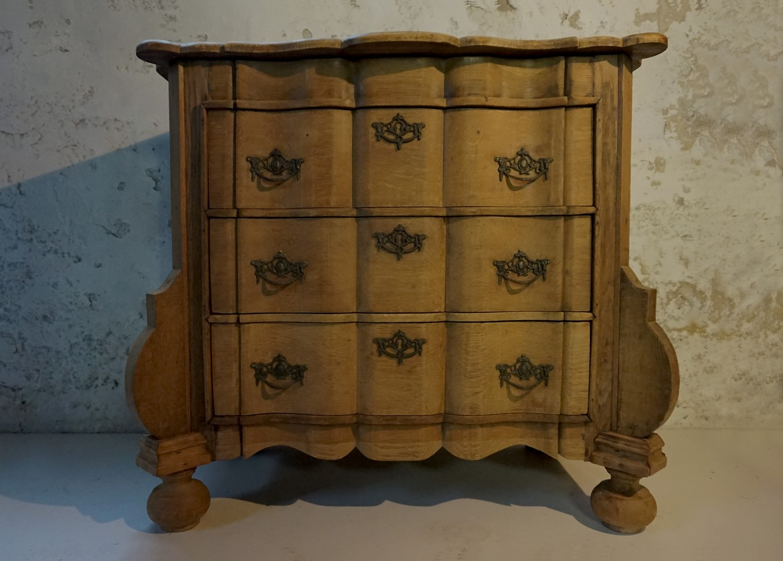 Commode Of Ladenkast.Antieke Nederlandse Oude Vintage Eiken Ladekast Commode