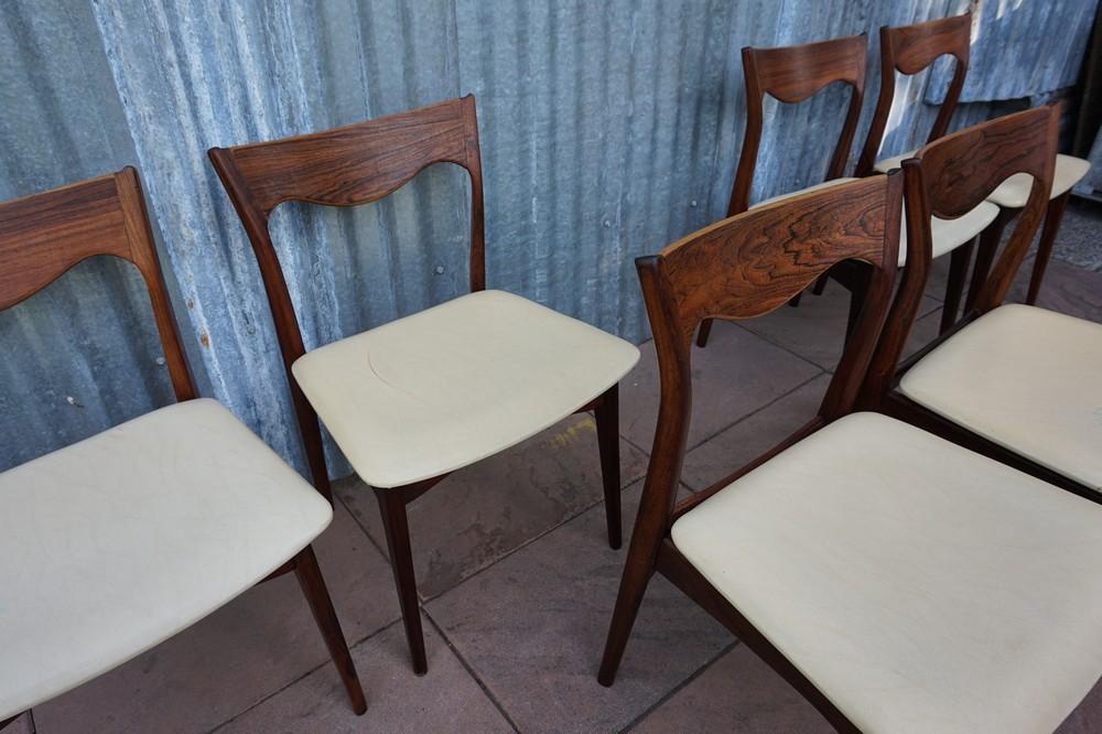 palissander stoelen van het nederlandse merk awa naar