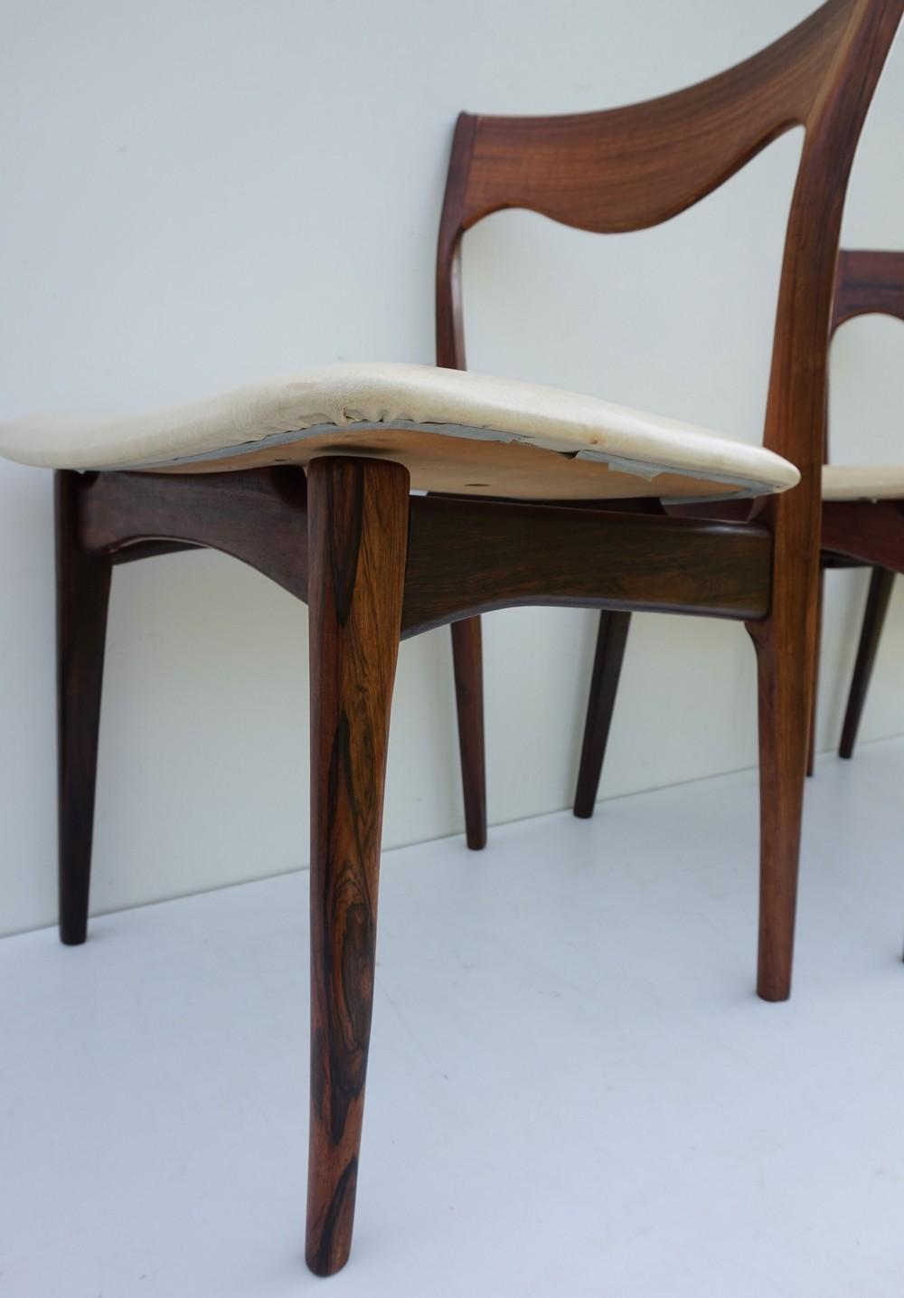 Palissander stoelen van het nederlandse merk awa naar for Merk stoelen