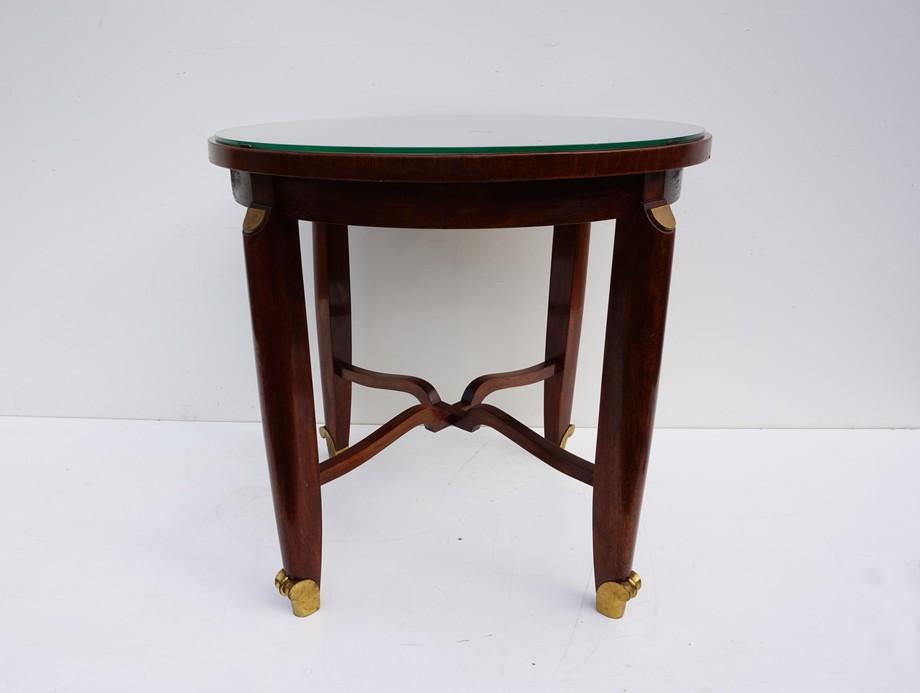 Art Deco Bijzettafel.Charles Leleu Art Deco Table Queridon Around The 1930s