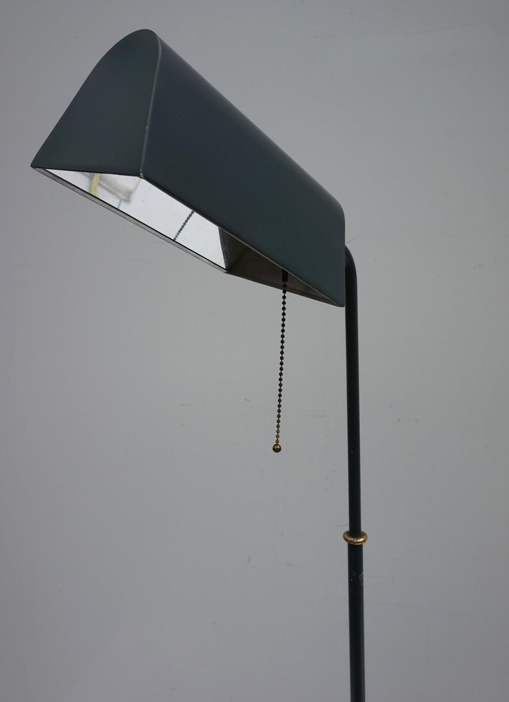 Image of: Vintage Mid Century Modern Koch Lowy Omi Adjustable Pharmacy Floor Lamp