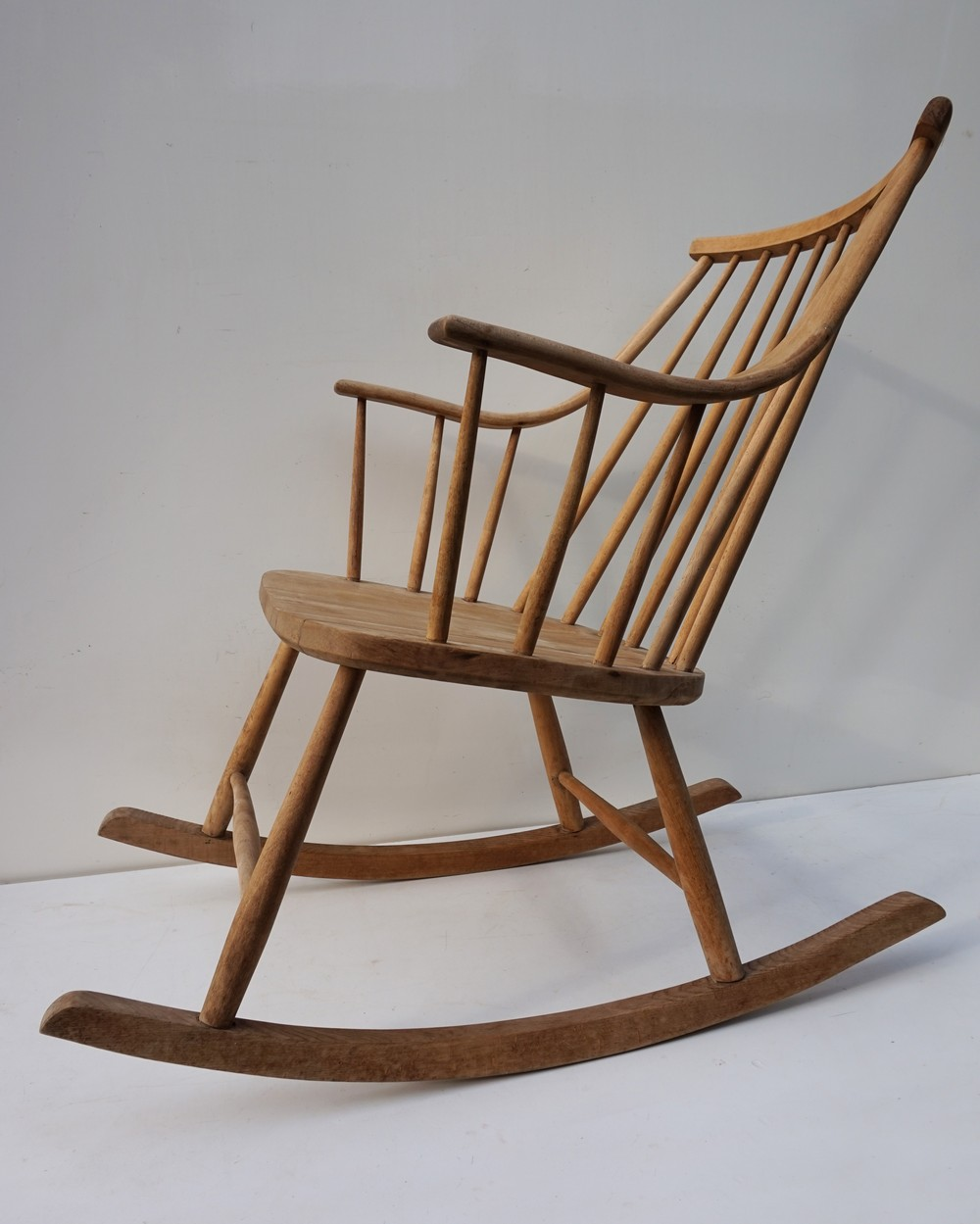 Lena Larsson, Scandinavische, Schommelstoel, Vintage, Rocking Chair