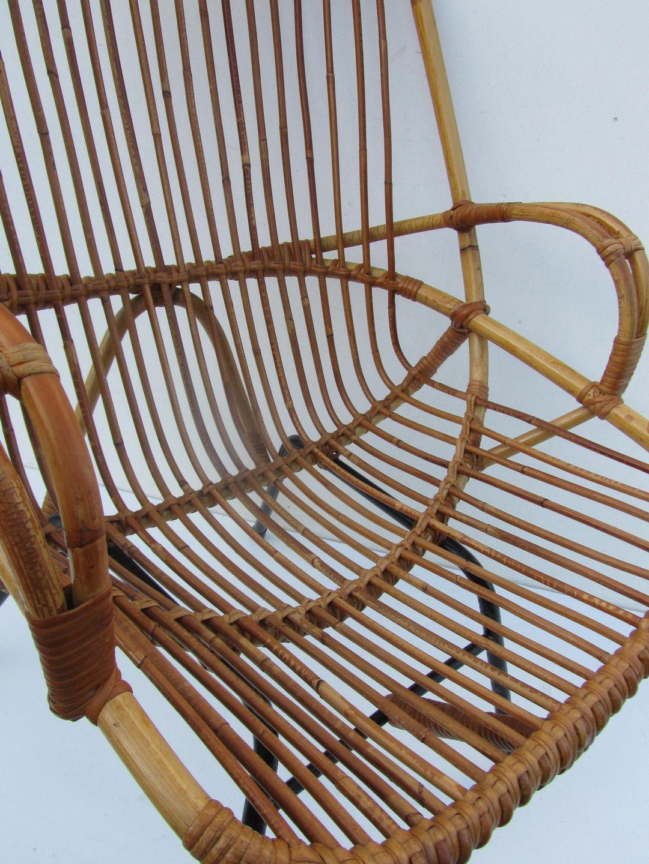 Vintage rattan chair - Rotan