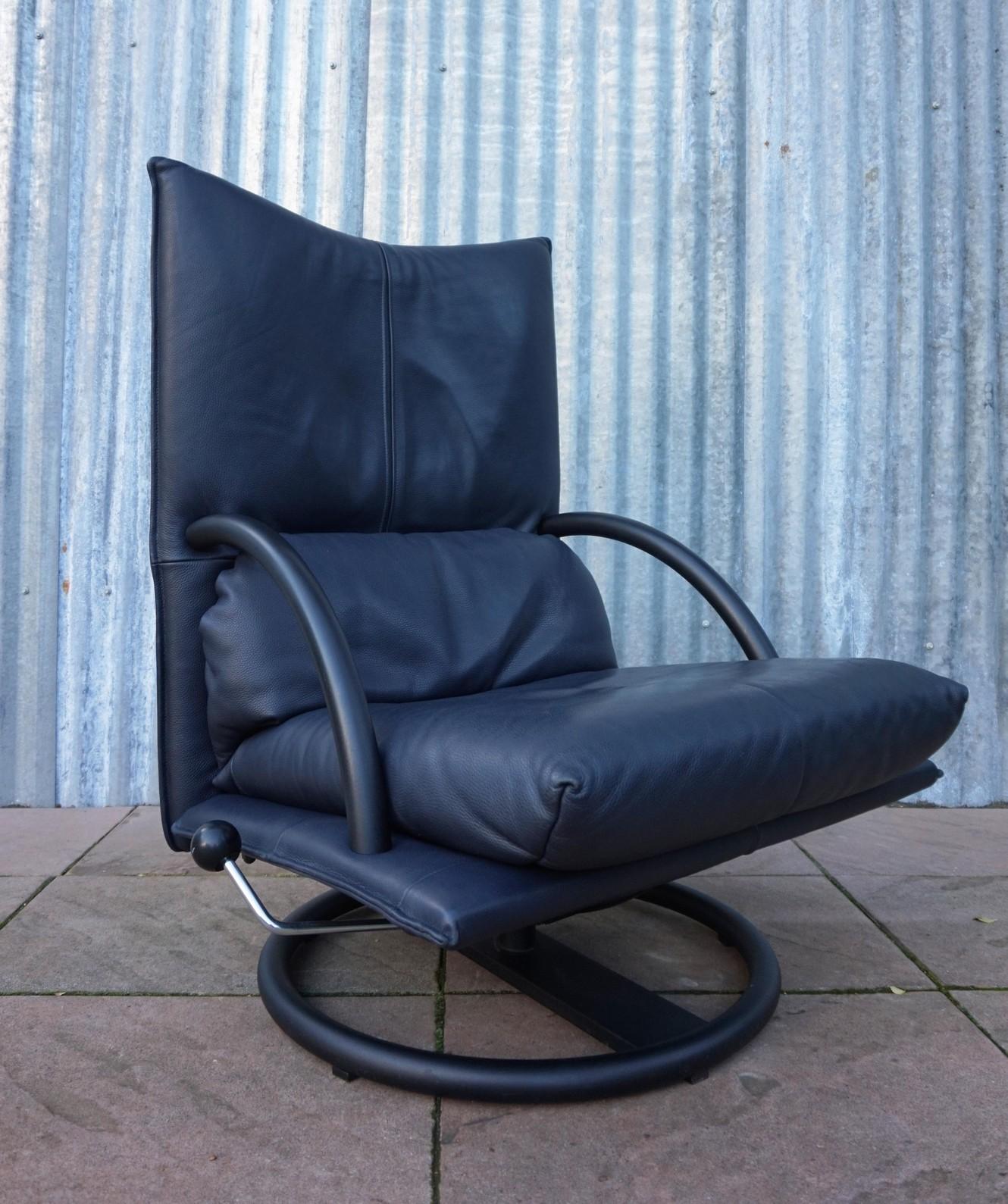 Nieuw vintage leren bmp fauteuil rolf benz for Rolf benz bmp