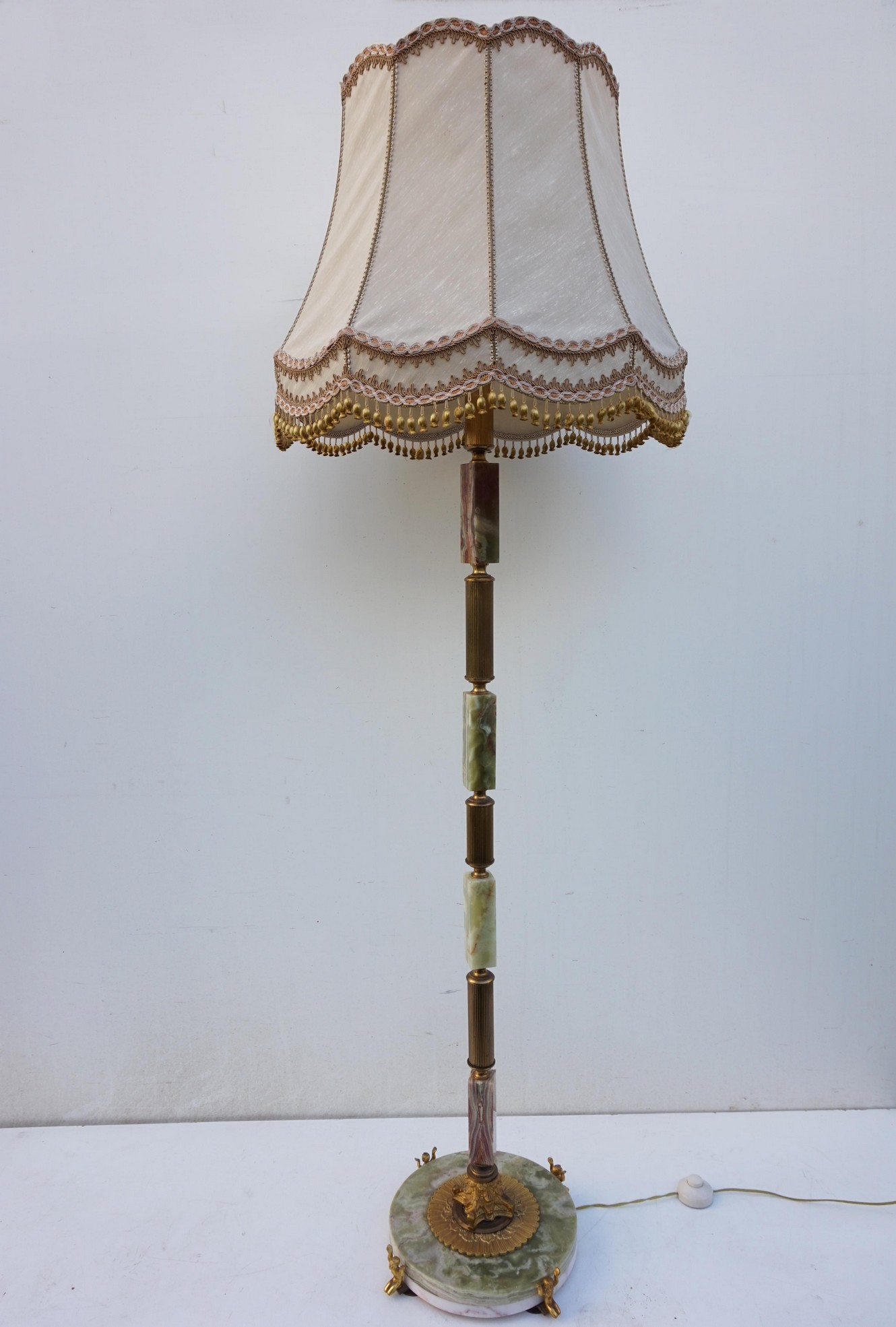 Verwonderend Lampen / Kroonluchters: Mid Century marmer, onyx en bronzen SM-24