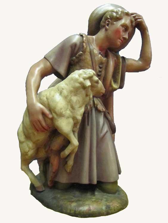 Afbeeldingsresultaat voor herder schaap kerststal
