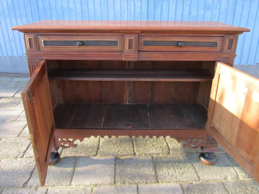 Retro Design Kastje : Atnique dutch renaissance low cabinet commode