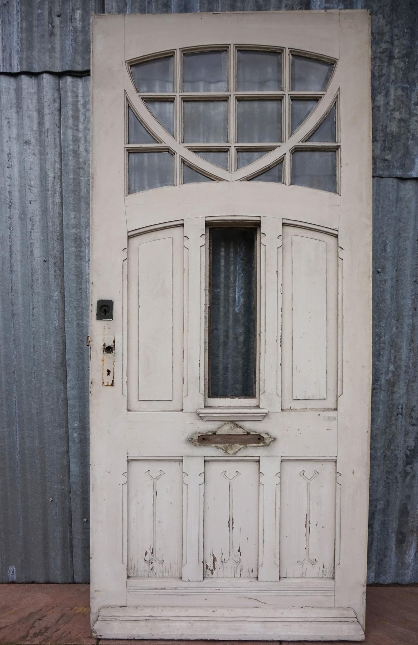 Art Nouveau Jugendstil Voordeur Front Door Mi Lock