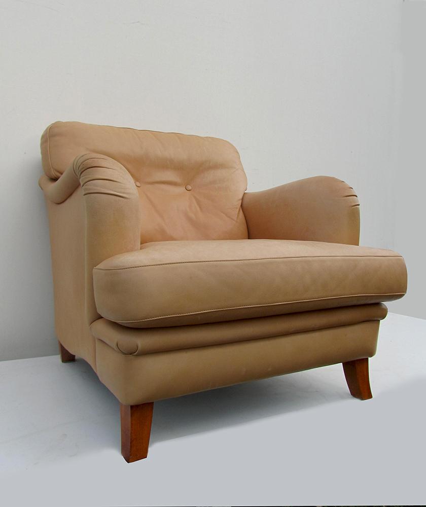 Verrassend Leren fauteuil/ clubfauteuil Bench , Baxter en De Sede TR-23
