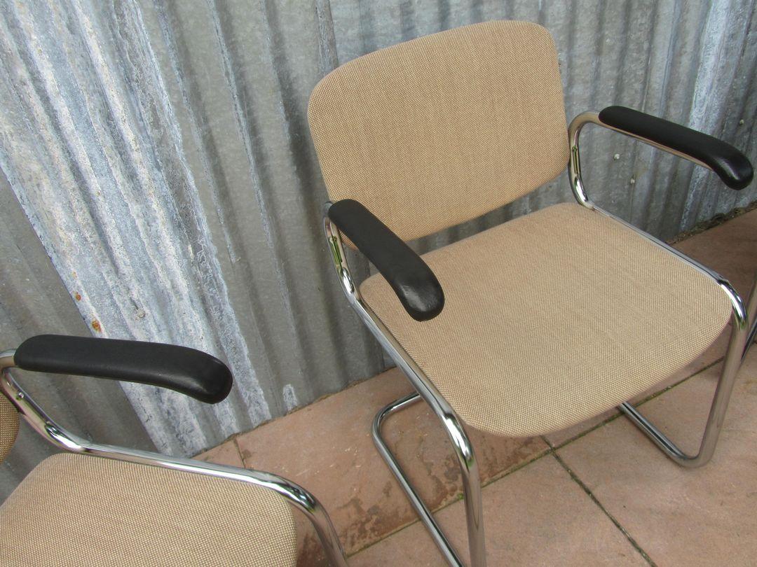 #7F6A4C23658056 Luxe Vintage Retro Bureaustoelen Conferentiestoelen Vergaderstoelen  Van de bovenste plank Design Meubel Winkel Antwerpen 1303 beeld 10808101303 Inspiratie