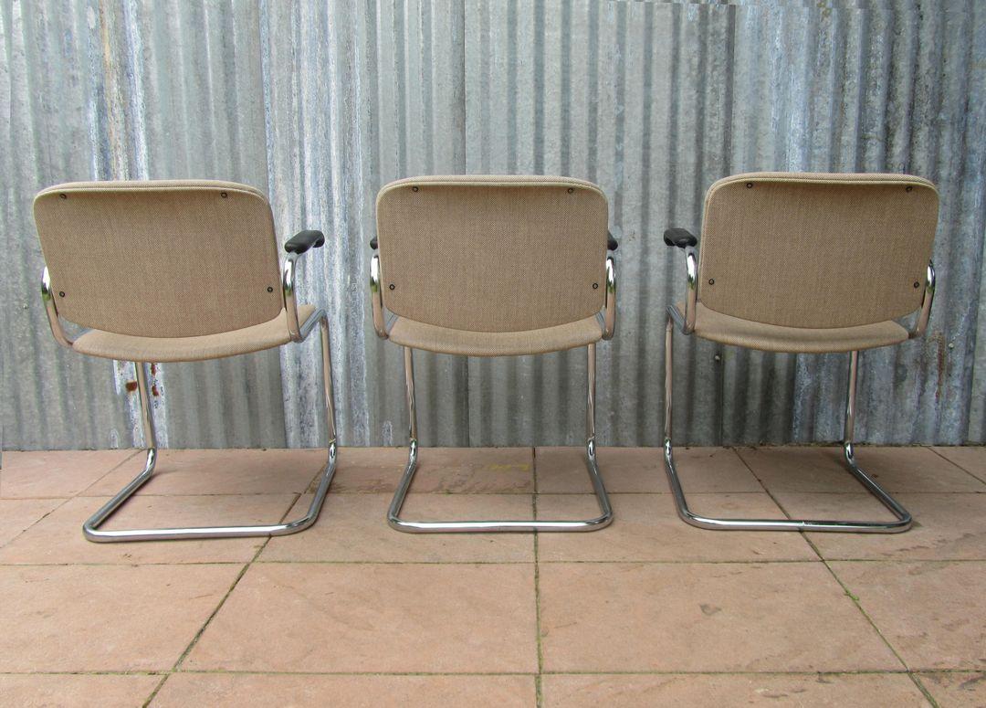 Luxe vintage retro bureaustoelen conferentiestoelen