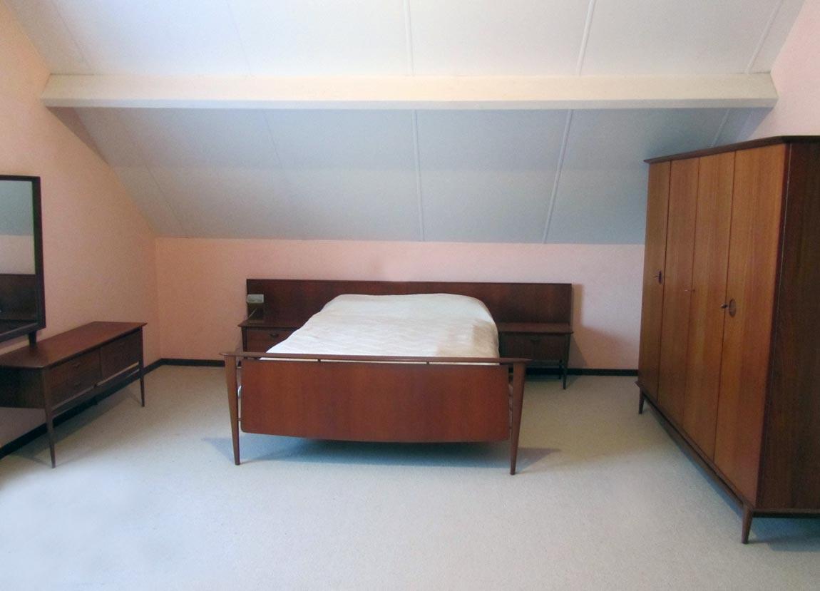 Retro Design Kastje : Vintage bedroom storage set in teak louis van teeffelen webe