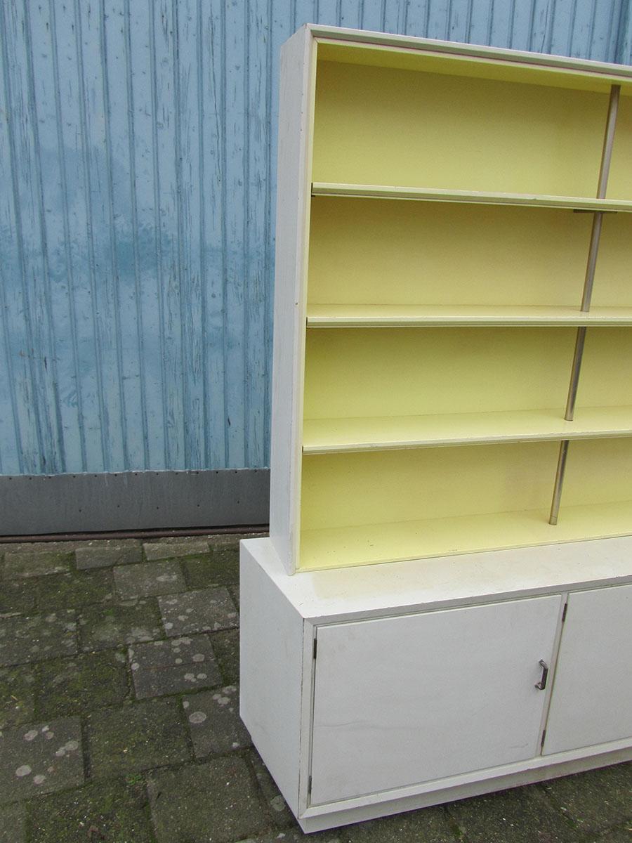 Nederlandse Kast Boekenkast Jaren 50 De Stijl Metz Co