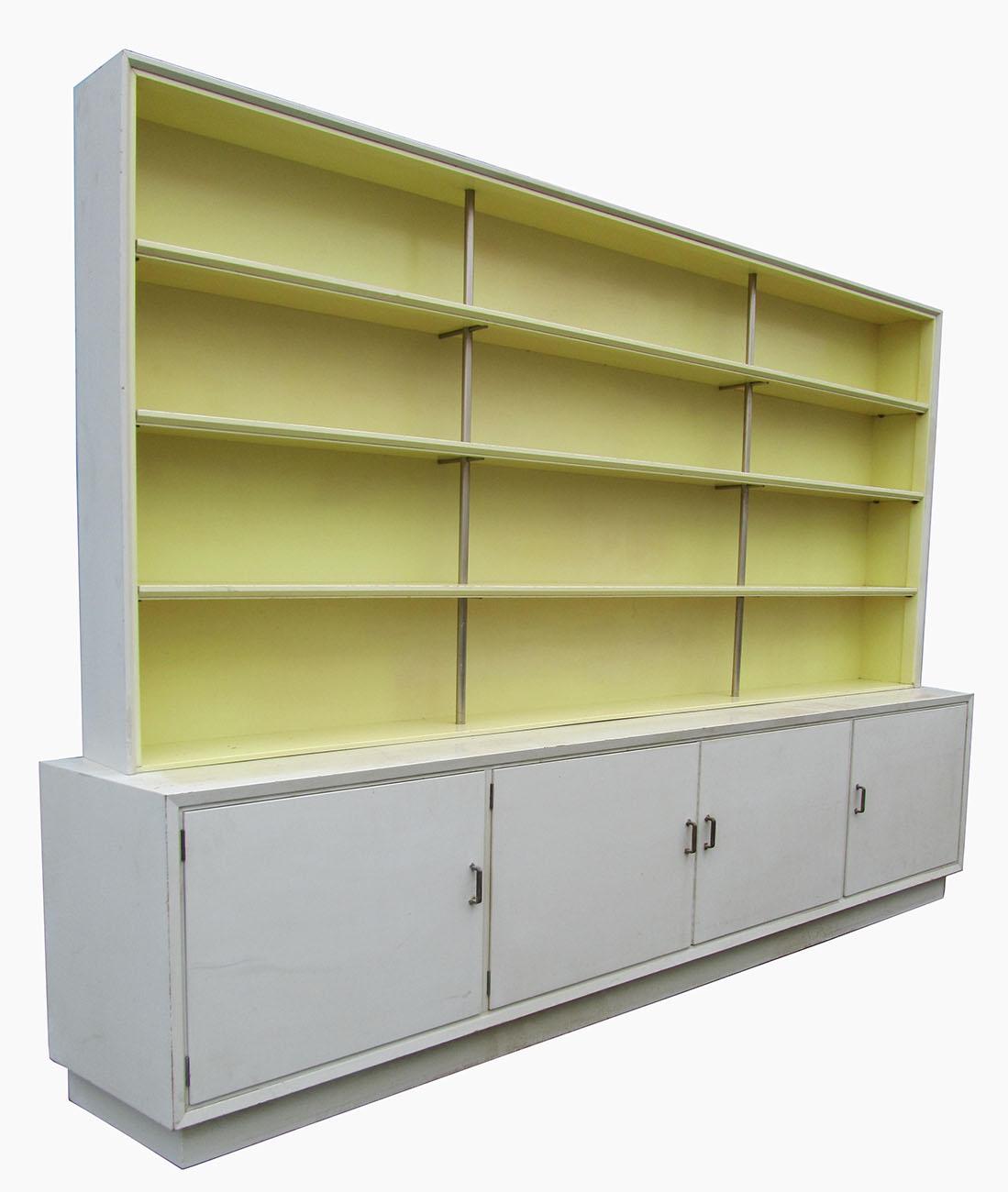 Nederlandse kast, boekenkast jaren \'50, De Stijl, Metz & Co