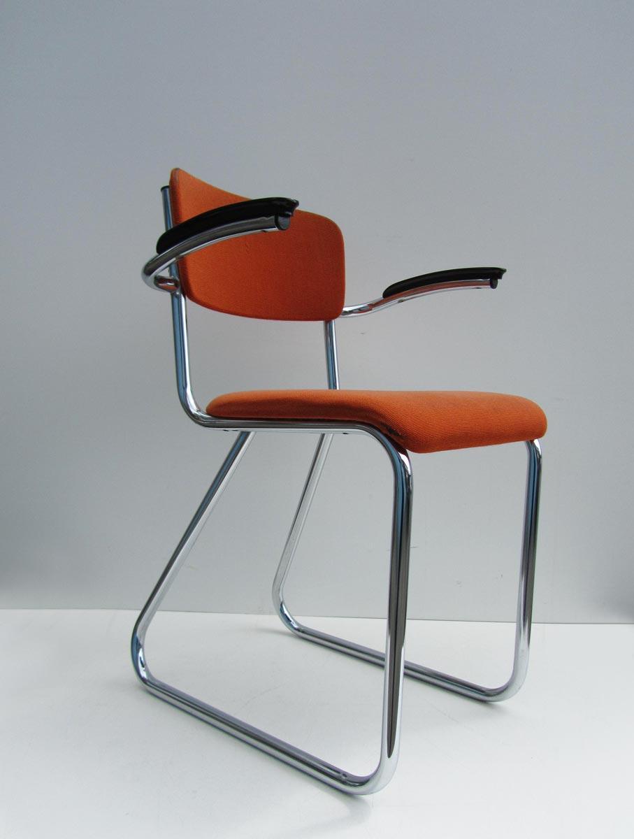 Buisframe Stoelen Vintage.Office Desk Chair By Paul Schuitema For Fana Rotterdam