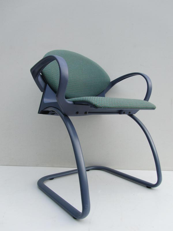 Vintage Strafor Gerd Lange Design bureaustoel. office chair