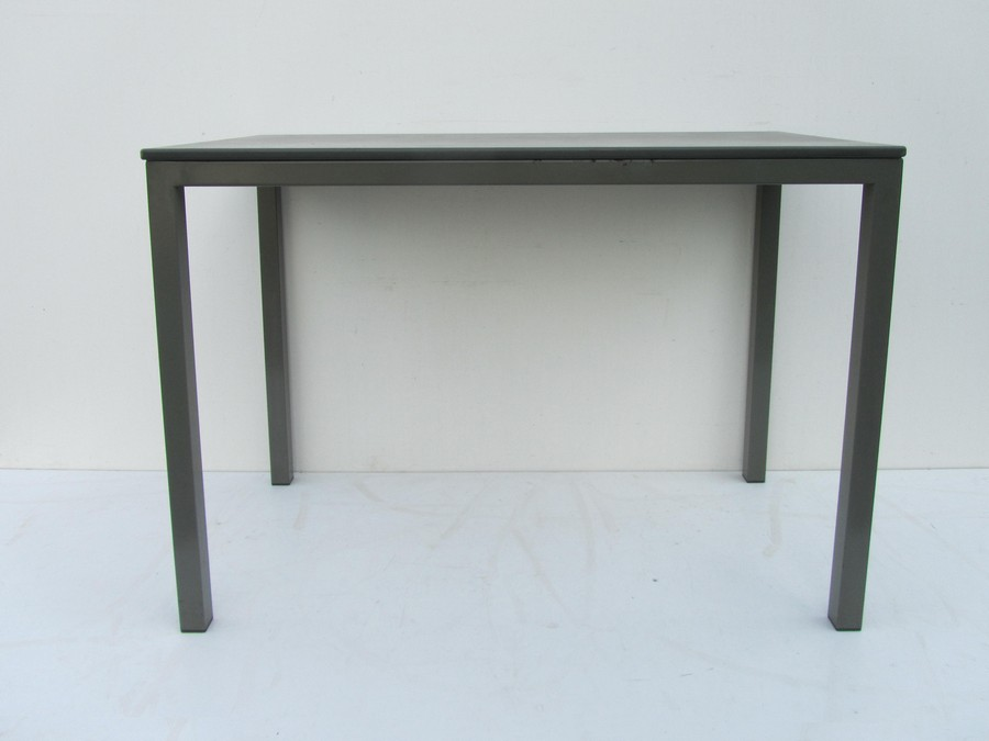 Vintage industrial small office table from gispen