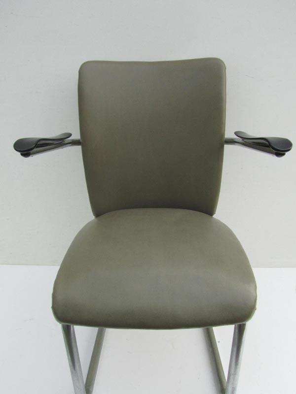 Woood Buisframe Eetkamerstoel.Gispen Gebroeders De Wit Tube Chair Armchair Dutch Design
