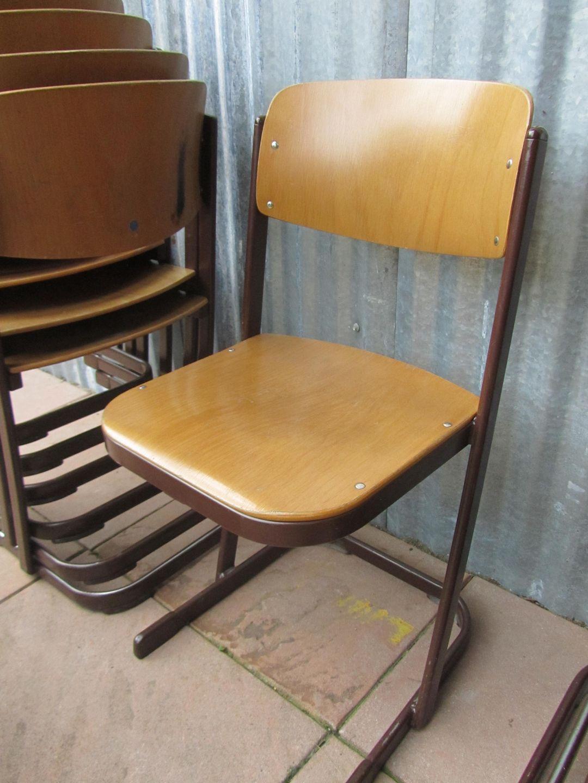 ijzeren industriele vintage schoolstoelen horeca partij vintage loft