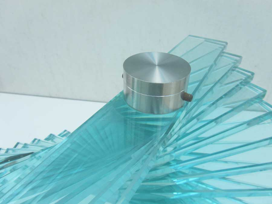 modern italiaans design glazen tafel glass coffee table