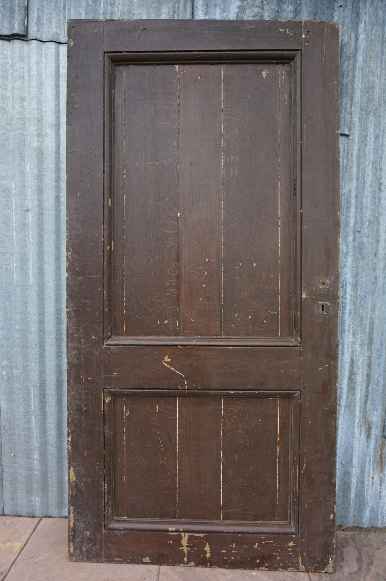Wonderlijk Oude houten deur, schuifdeur, roldeur JH-81
