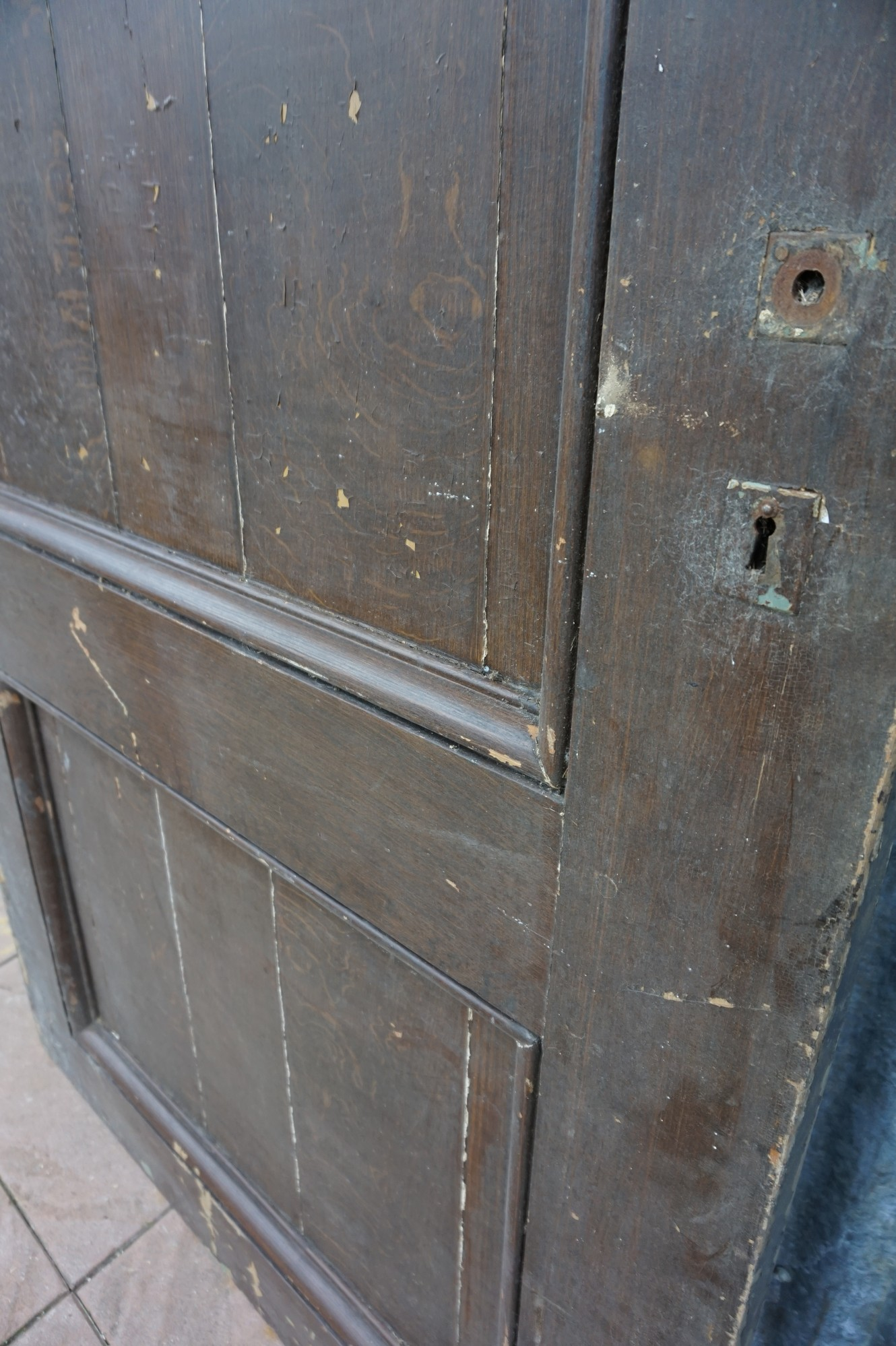 Goede Oude houten deur, schuifdeur, roldeur AJ-22