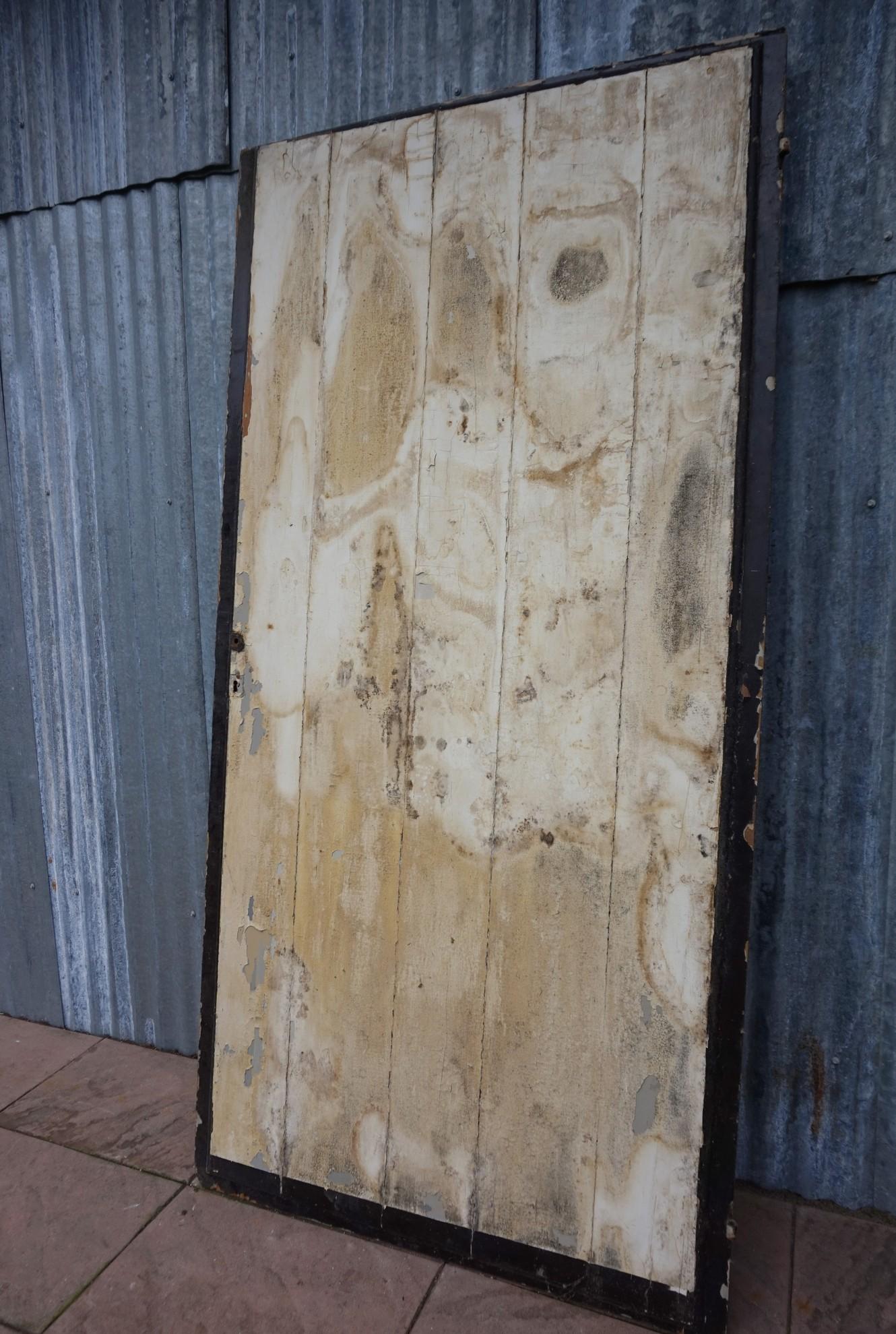 Nieuw Oude houten deur, schuifdeur, roldeur UH-41