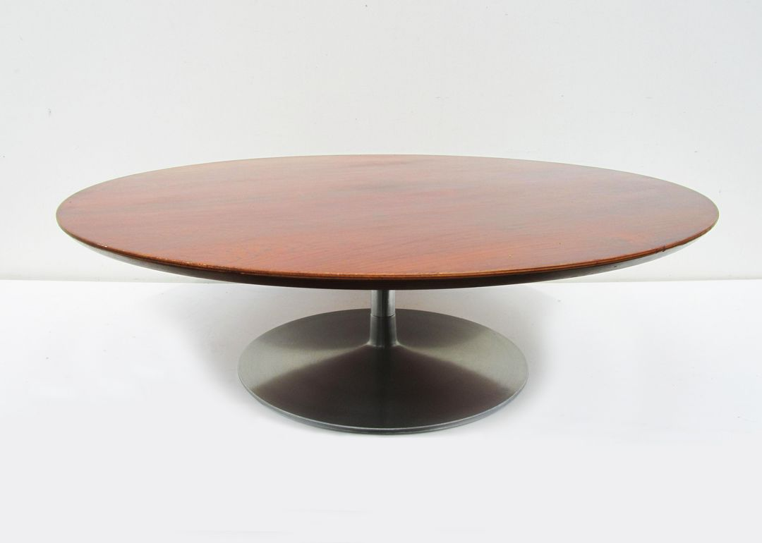 Vintage coffee table was designed by pierre paulin for artifort in ...