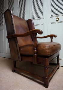 Criterion Cord Chairs,Settees,Vintage, leren, oorfauteuil, wing, chair, fauteuil, highback, wingchair