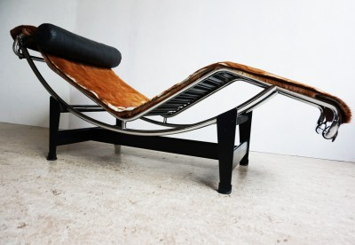 LC4, chaise longue, Le Corbusier, Cassina, Pierre Jeanneret, Charlotte Perriand,early, edition