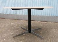 Vintage mid century modern round formica dinette kitchen table