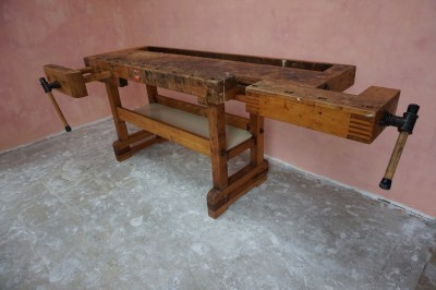 Vintage, Workbench, Work, Table, industrial, werkbank