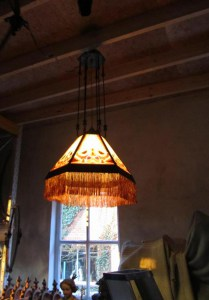 Amsterdamse School lamp, art deco