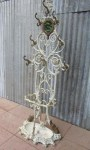 Antieke gietijzeren Kapstok, Antique cast iron Hall Stand