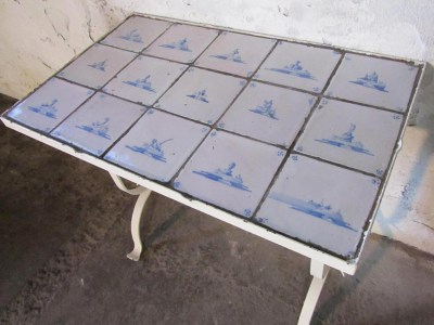 ijzeren-tafel-antieke-Delftse-tegels-antique-dutch-tiles-table