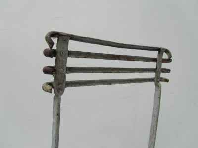 antique, forged, iron, chair, garden, antiek, gesmeed, ijzeren, tuinstoel, klapstoel