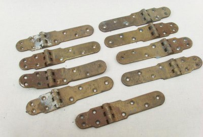 Antiek bronzen deur beslag, antique bronze door hinges