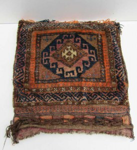 Antique/Vintage Collection of 3 Persian Oriental Saddlebags / Pillows