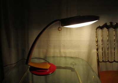 Luxe bureaulamp fase madrid gold ufo desk lamp