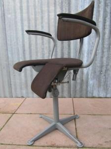 Friso Kramer Bureaustoel.Vintage Oude Friso Kramer Arthrodese Bureaustoel Werkstoel Retro