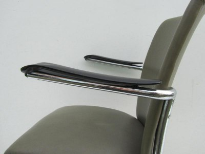 Gispen de wit buisframe stoel fauteuil tube chair dutch design