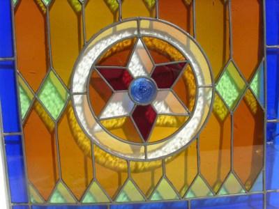 Glas In Lood Engels.Glas In Lood Raam Met Engel