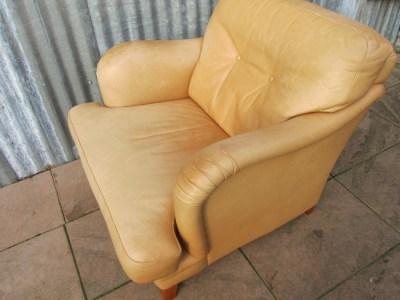 Ongekend Leren fauteuil/ clubfauteuil Bench , Baxter en De Sede YV-25