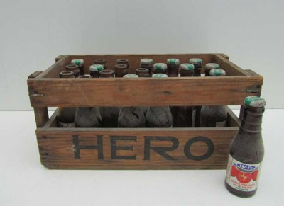 antique,hero,bottles