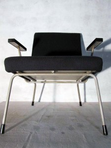Gispen industrial vintage lounge fauteuil/chair Wim Rietveld