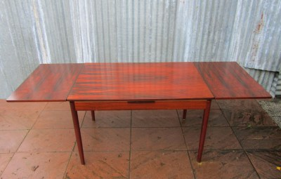 Vintage Danish Rio Rosewood Table And Chairs Arne Vodder