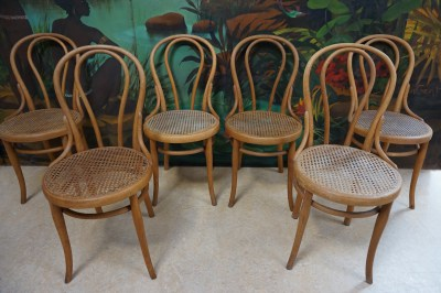 Thonet, orignele, oude, stoelen, chairs, Austrial, 18, cataloque, set