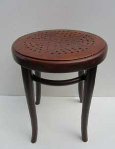originele, hocker, kruk, Thonet, 1900, stool