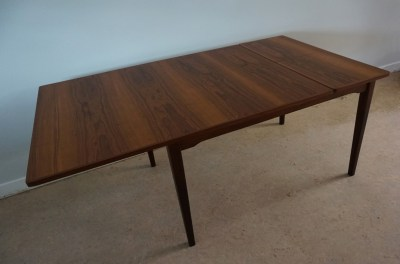 Topform, tafel, uittrektafe, vintage, teak, dining, table